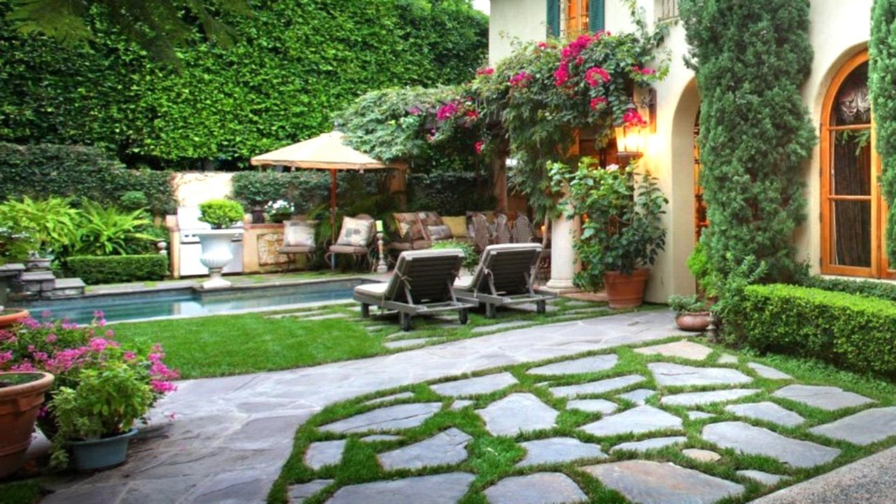 57 Landscaping Ideas For A Stunning Backyard Landscape Design intended for 13 Some of the Coolest Tricks of How to Makeover Pictures Of Backyard Landscaping