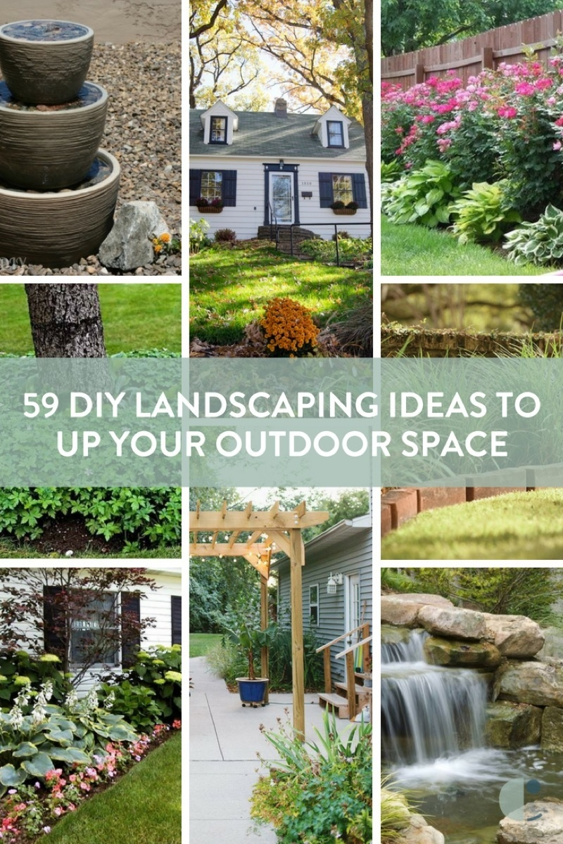 59 Diy Landscaping Ideas And Tips To Improve Your Outdoor Space Curbly intended for DIY Backyard Landscape Design