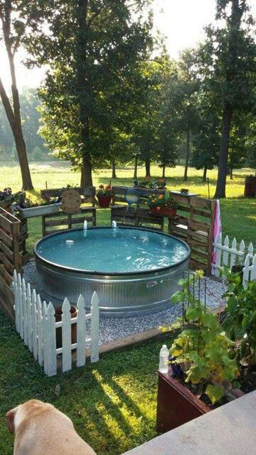 60 Fabulous Natural Small Pool Design Ideas To Copy On Your Backyard pertaining to 14 Clever Tricks of How to Improve Backyard Summer Ideas