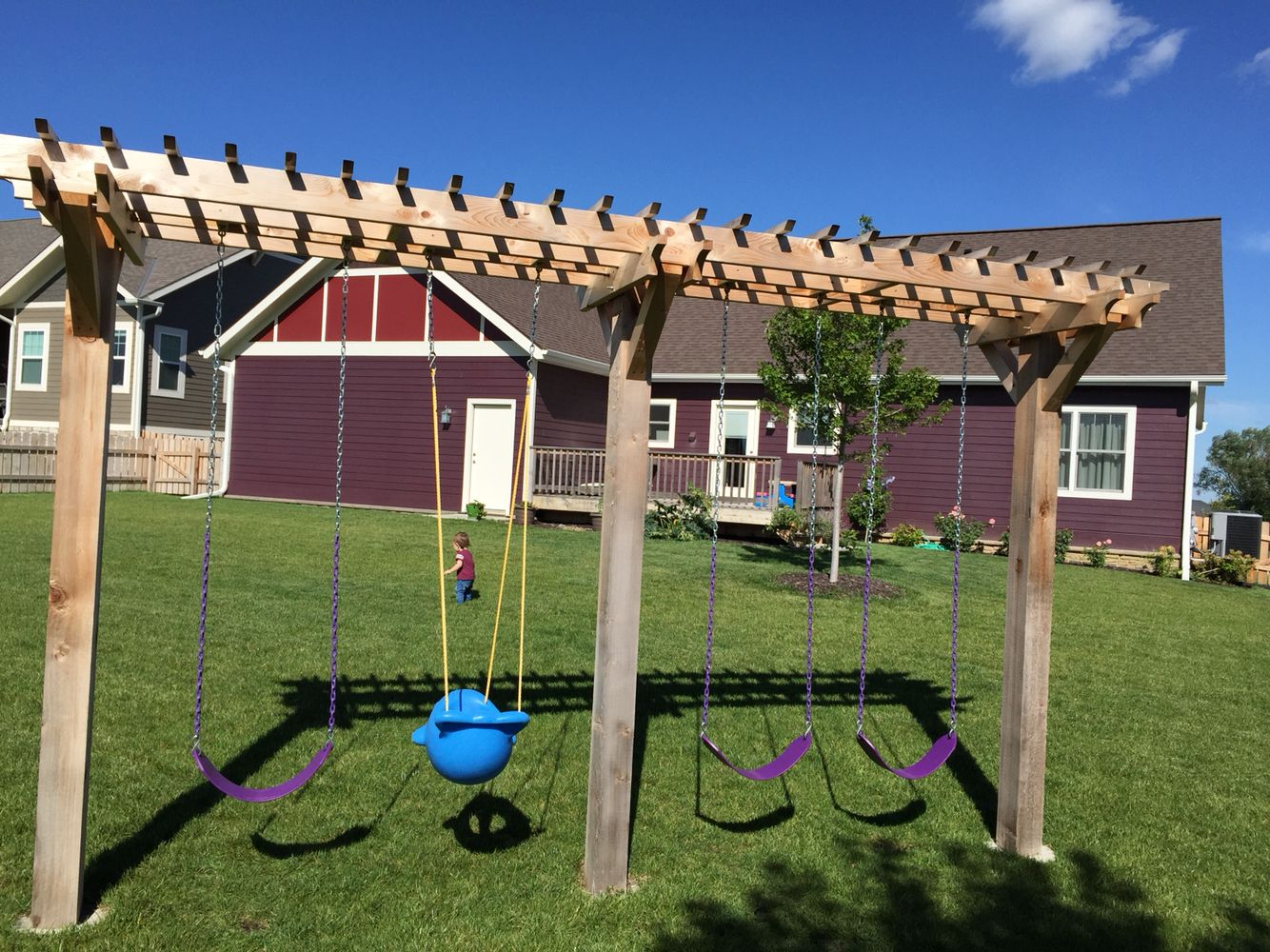 60 Swing Sets Ideas That Would Be Awesome Enjoy Your Time regarding 12 Smart Ideas How to Upgrade Backyard Swing Set Ideas