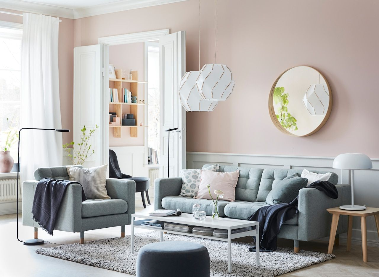 A Calm Living Room Oasis Livingroom In 2019 Ikea Living Room with Ikea Living Room Sets