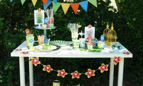 A Summer Backyard Camping Party With Free Printables Party Ideas throughout 14 Genius Designs of How to Upgrade Backyard Birthday Party Ideas