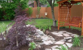 Affordable Backyard Landscaping Ideas Have Amazing Simple Small On A within 12 Smart Initiatives of How to Build Simple Backyard Landscape Ideas