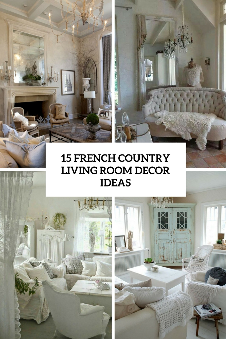 Amazing French Country Living Room Furniture 15 D Cor Idea pertaining to French Country Living Room Sets