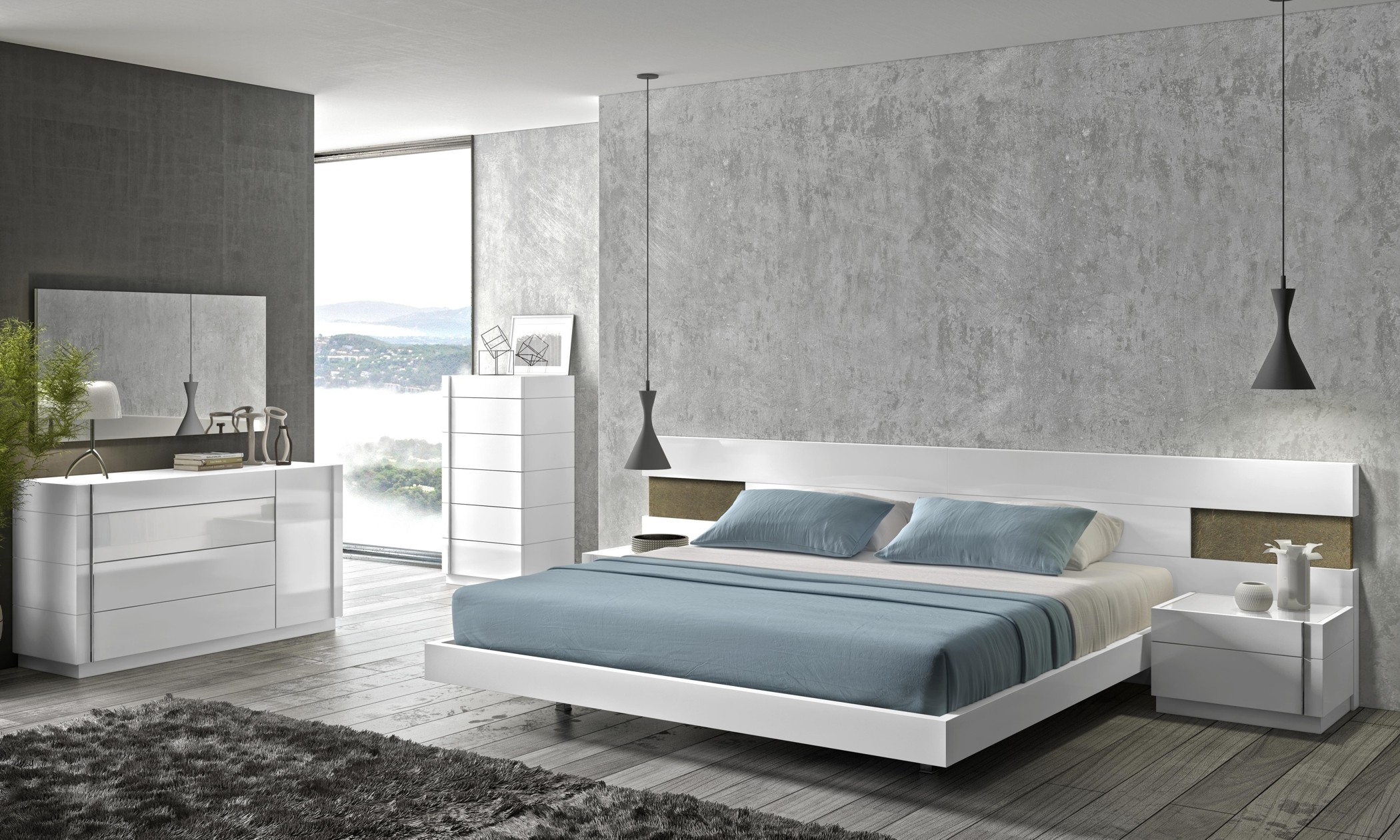 Amora Modern Bedroom Set for 11 Genius Designs of How to Build White Modern Bedroom