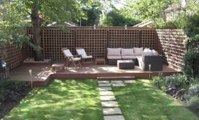 Architecture Cozy Home Decking And Fencing Ideas Thinkter Tropical inside Houzz Landscaping Backyard