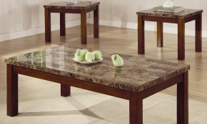 Arden 3 Piece Marble Look Top Coffeeend Table Set Coffee Table with 11 Some of the Coolest Designs of How to Improve Living Room Table Set