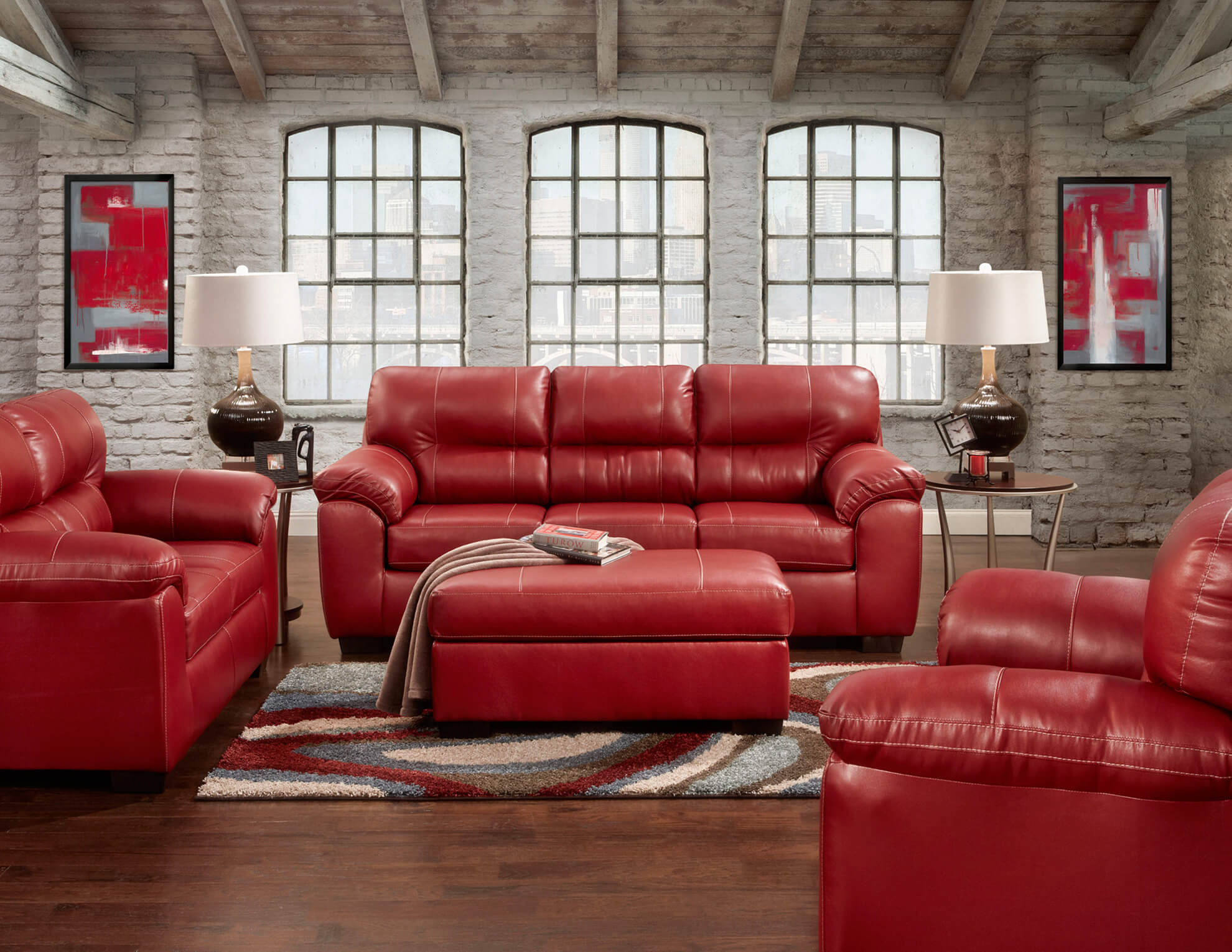 Austin Red Sofa And Loveseat Leather Living Room Sets for 11 Some of the Coolest Initiatives of How to Improve Red Leather Living Room Set