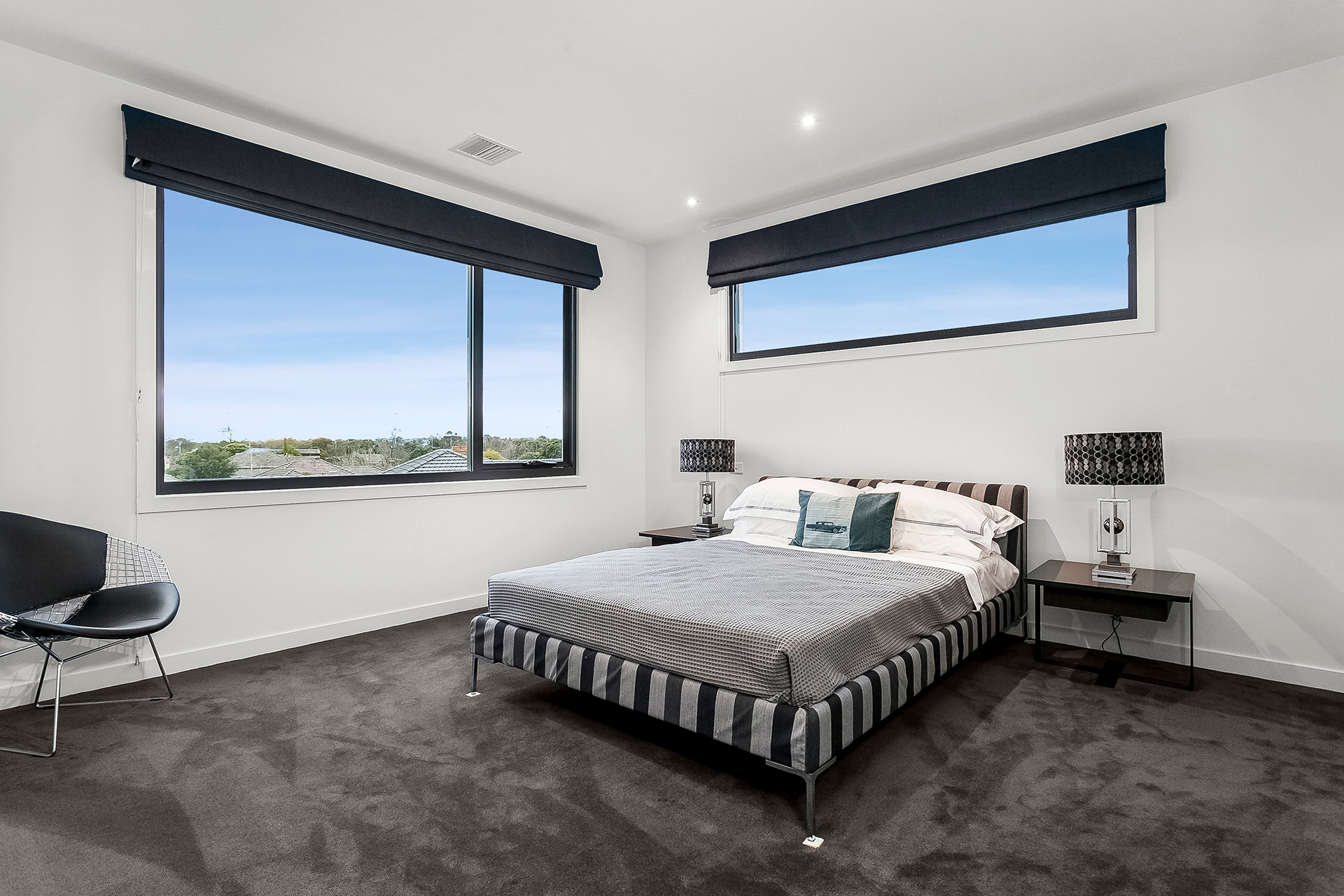 Automate Your Blinds In Home Design with regard to 11 Smart Initiatives of How to Improve Modern Bedroom Blinds