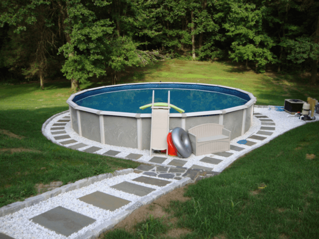 Awesome Above Ground Pool Landscape Ideas 260 Pool Above Ground intended for 12 Genius Designs of How to Improve Backyard Above Ground Pool Landscaping Ideas