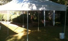 Backyard Aladdin Rentals And Events Rents Small Backyard Easy Up with regard to 13 Clever Ways How to Makeover Backyard Tent Ideas
