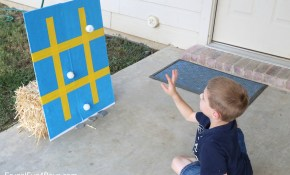 Backyard Carnival Games For Kids Sticky Tic Tac Toe Frugal Fun regarding 12 Genius Tricks of How to Makeover Backyard Carnival Ideas