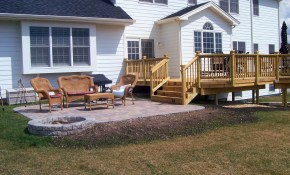 Backyard Deck And Patio Ideas Awesome Best Wood Deck Designs Ideas intended for Backyard Wood Patio Ideas