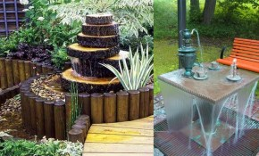 Backyard Fountain Ideas Creative Garden Small Outdoor Water Youtube throughout 11 Smart Ideas How to Makeover Small Backyard Fountain Ideas