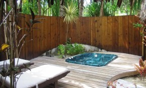 Backyard Hot Tub Designs Best Of Great For Small Spaces In Narrow throughout Backyard Hot Tub Landscaping
