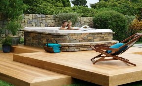 Backyard Hot Tub Ideas Large And Beautiful Photos Photo To Select with 14 Genius Ideas How to Upgrade Backyard Hot Tub Landscaping
