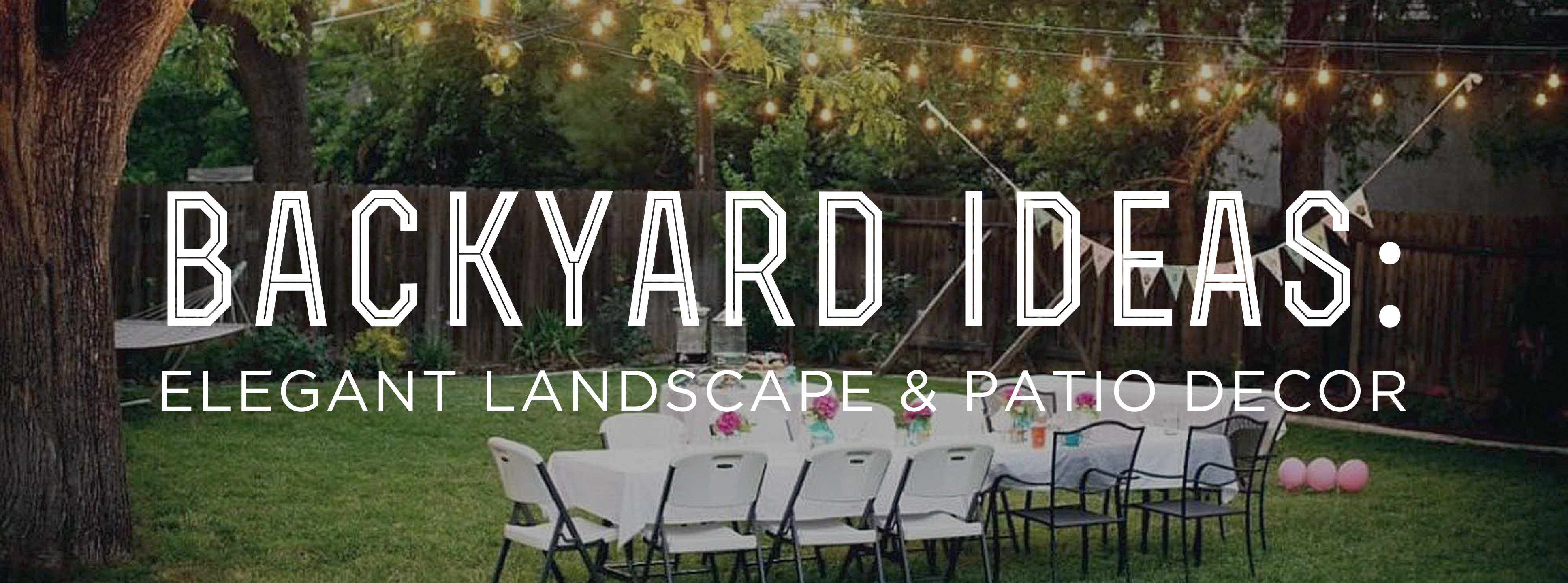 Backyard Ideas Elegant Landscape And Patio Decor Gentlemans Gazette intended for 14 Some of the Coolest Concepts of How to Upgrade Backyard Pictures Ideas Landscape