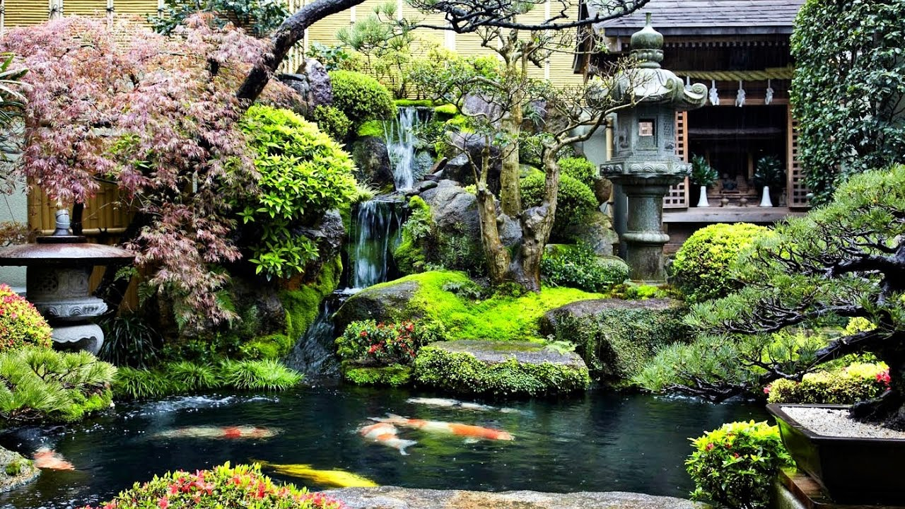 Backyard Koi Pond Waterfall Garden Ideas Youtube with 14 Awesome Ideas How to Build Backyard Pond Landscaping