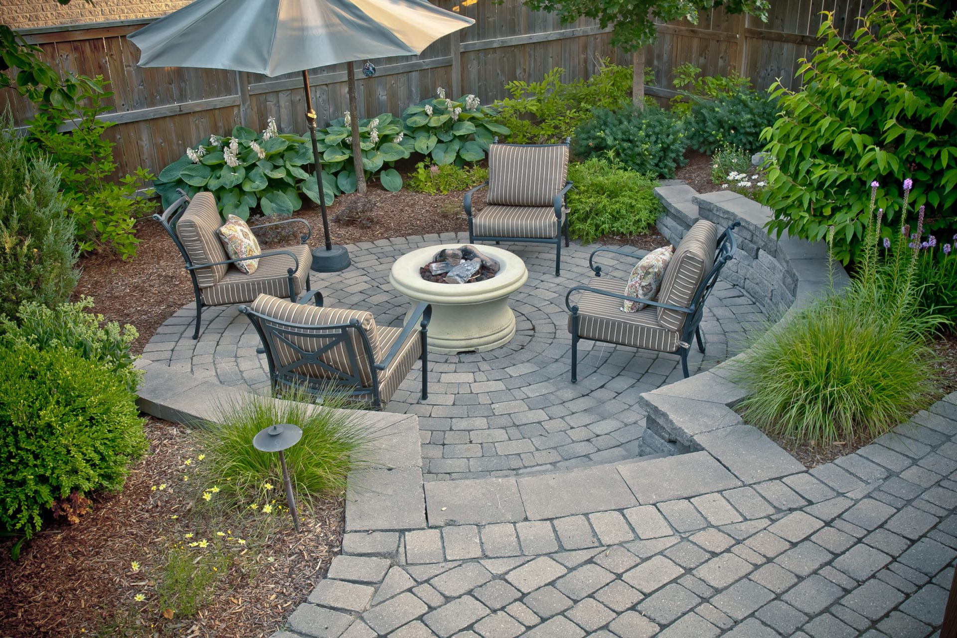 Backyard Landscaping For Patios Fire Pits More Tlc Landscaping pertaining to 13 Some of the Coolest Tricks of How to Makeover Pictures Of Backyard Landscaping
