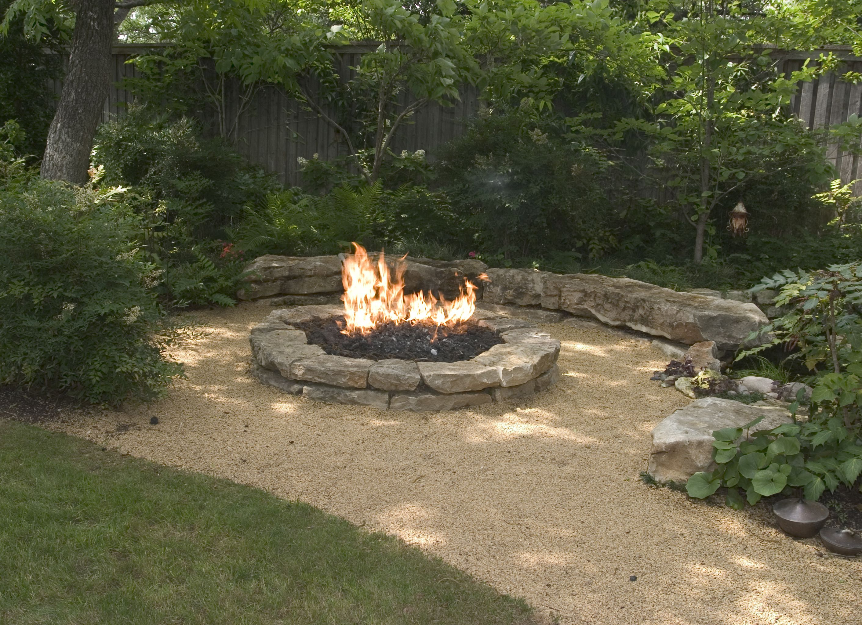 Backyard Landscaping Ideas Attractive Fire Pit Designs Barns regarding Backyard Landscaping Ideas With Fire Pit