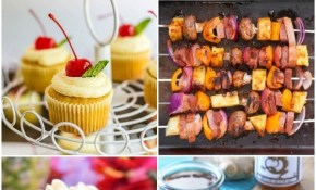 Backyard Luau Menu Plan Bread Booze Bacon in Backyard Party Menu Ideas