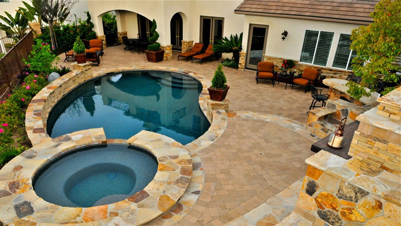 Backyard Pool Designs Pool Ideas For Small Backyards Youtube for Pool Ideas For Small Backyards
