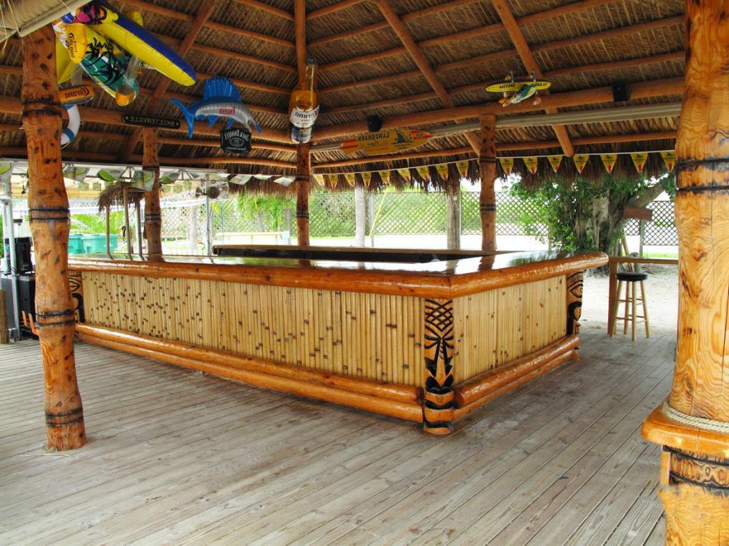 Backyard Tiki Bar Ideas Kimberly Porch And Inside Different Patio inside 15 Some of the Coolest Concepts of How to Build Backyard Tiki Bar Ideas
