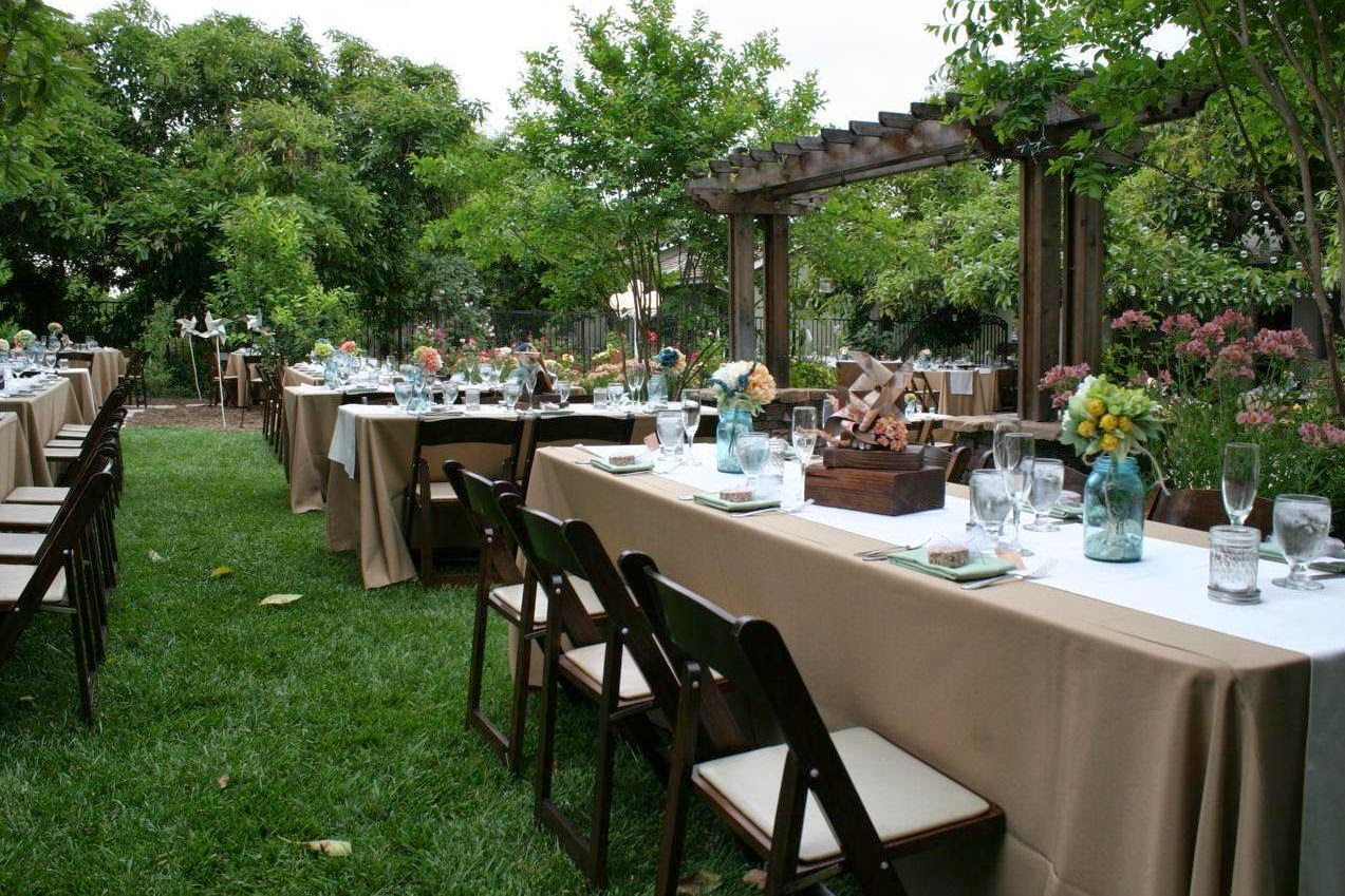 Backyard Wedding Ideas Nighttime And Tropical Backyard Safe Home with regard to 10 Awesome Ideas How to Make Backyard Wedding Reception Ideas On A Budget