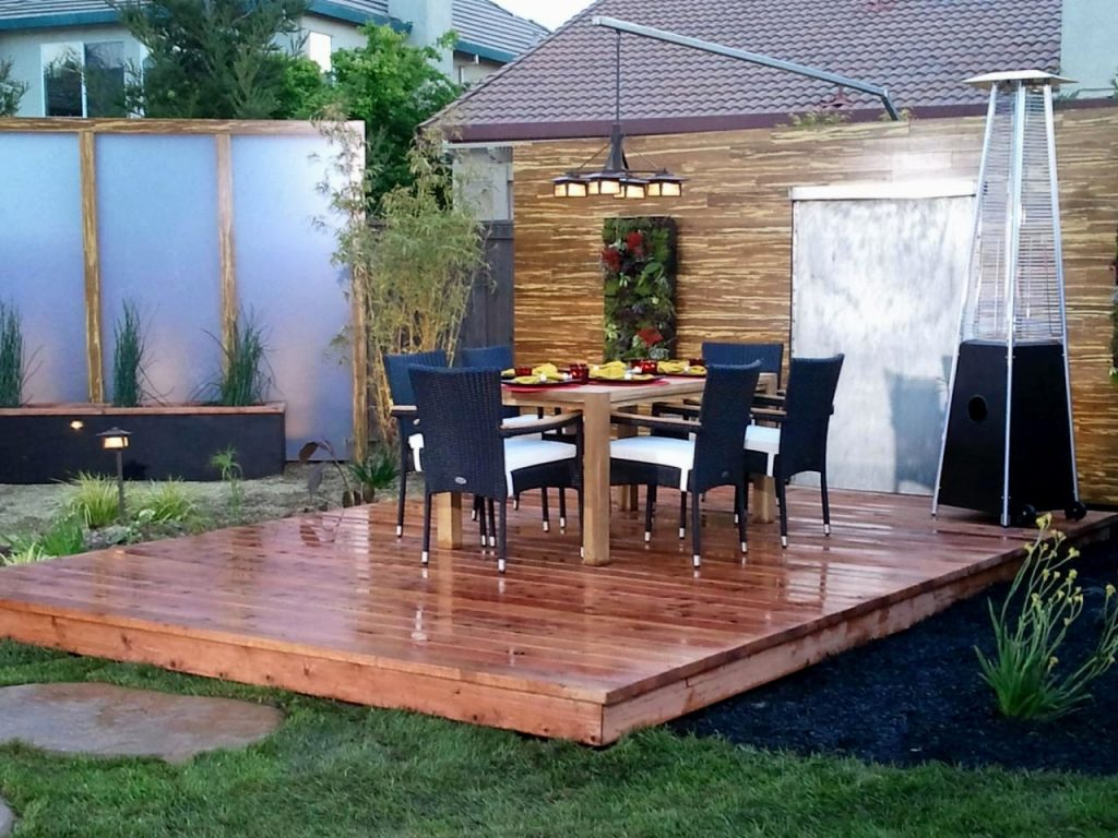Backyard Wood Deck Ideas Best Wooden Decking Outdoor Patio Youtube regarding Patio Deck Ideas Backyard
