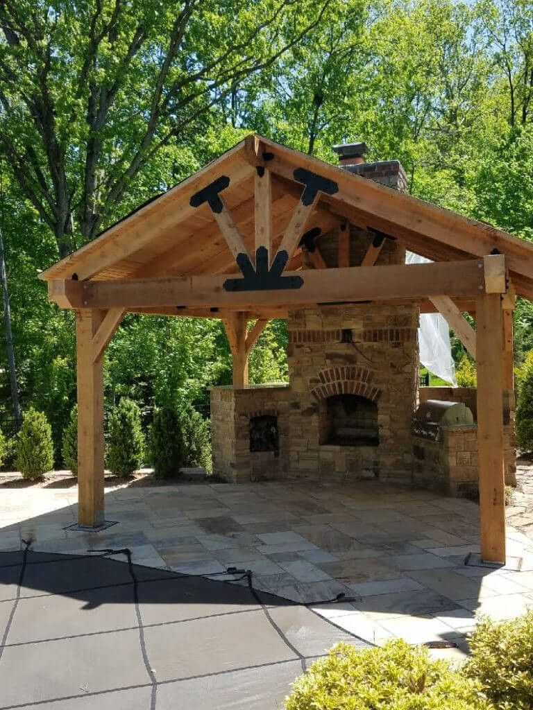 Beautiful Pergola Plans Ideas Patio Pergola Design In 2019 intended for Pavilion Ideas Backyard