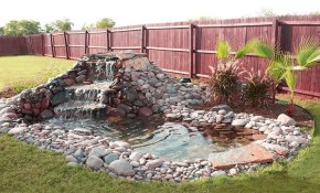 Beautiful Waterfall Ideas For Small Ponds Backyard Garden Waterfalls regarding 11 Some of the Coolest Initiatives of How to Upgrade Backyard Small Pond Ideas