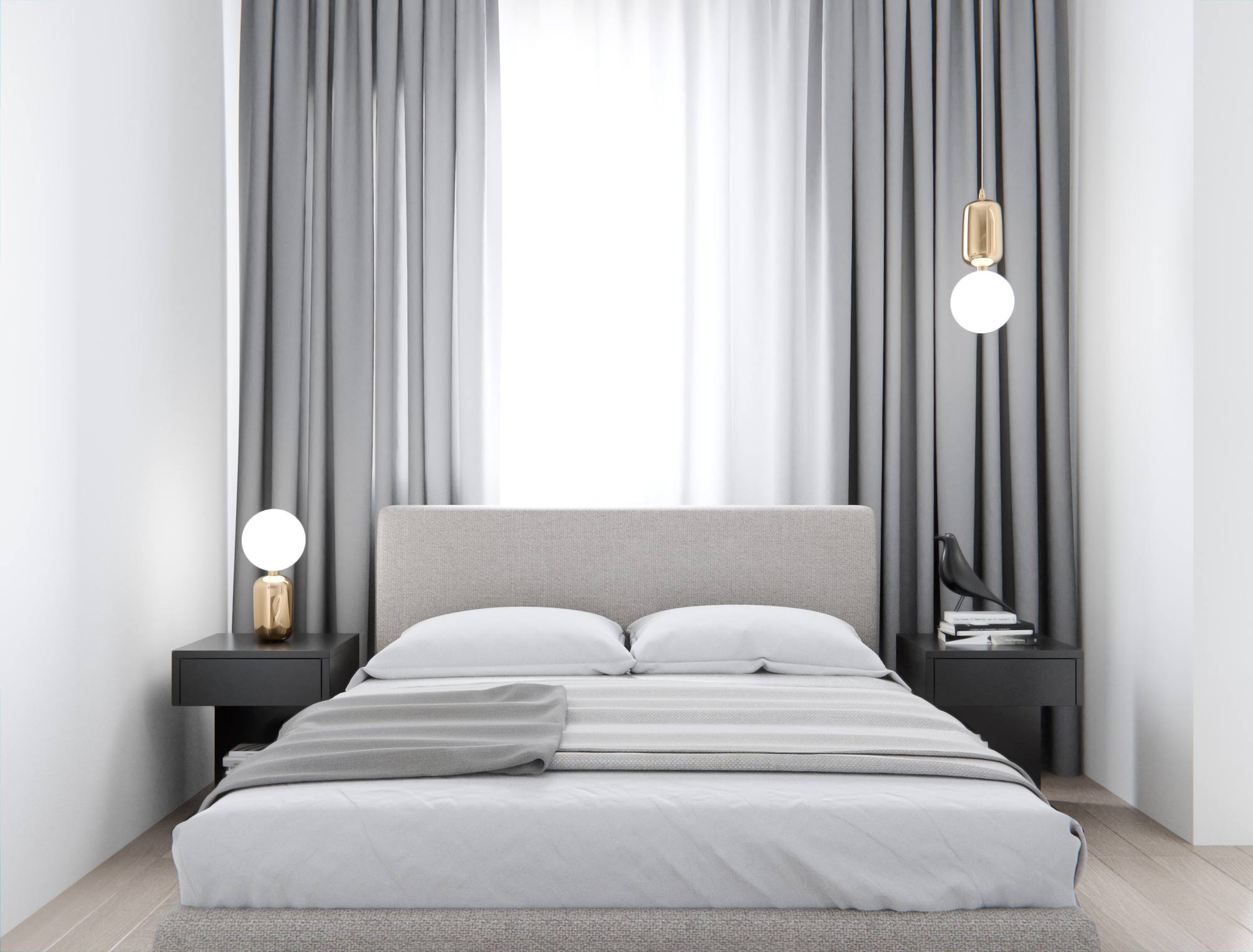 Bedroom Ideas 52 Modern Design Ideas For Your Bedroom The Luxpad in Modern Gray Bedroom Ideas