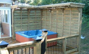 Best Ideas For Decks With Hot Tubs Design Lugenda inside 13 Genius Concepts of How to Craft Backyard Deck Ideas With Hot Tub