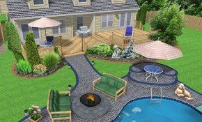 Big Backyard Ideas Large Landscaping Design Outdoors Home pertaining to Landscaping Ideas For Big Backyards