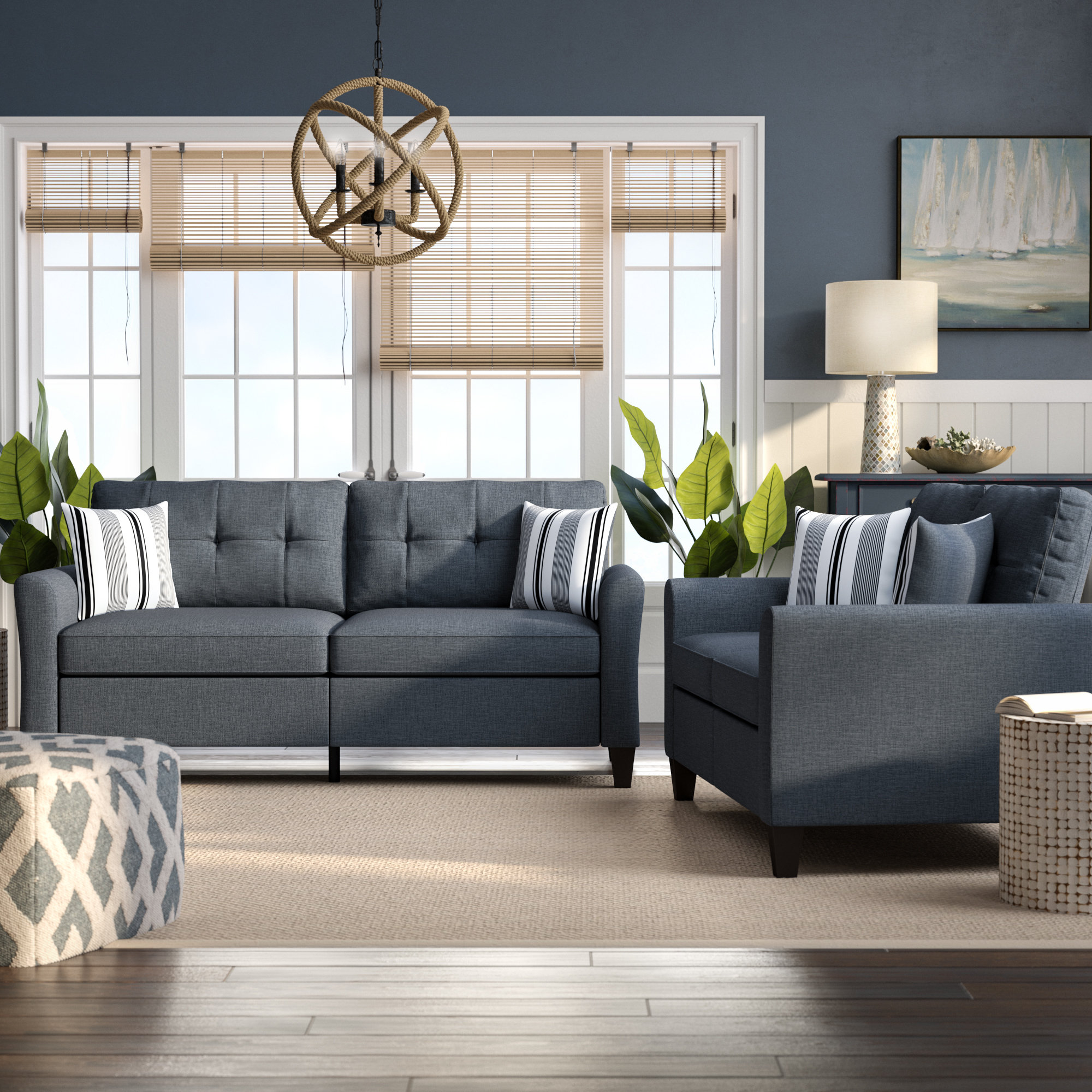 Breakwater Bay Wolfram 2 Piece Living Room Set Reviews Wayfair with regard to 10 Awesome Ideas How to Improve Living Room Set For Cheap