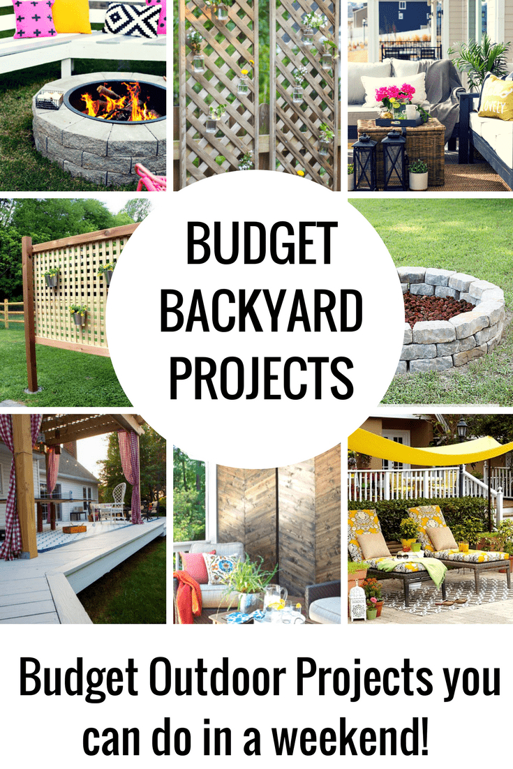 Budget Diy Backyard Projects To Do This Weekend Princess Pinky Girl intended for 13 Smart Ideas How to Make Backyard Ideas Budget