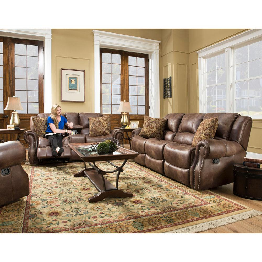 Cambridge Stratton 3 Piece Chocolate Sofa Loveseat And Recliner intended for 13 Awesome Ways How to Improve 3 Piece Leather Reclining Living Room Set