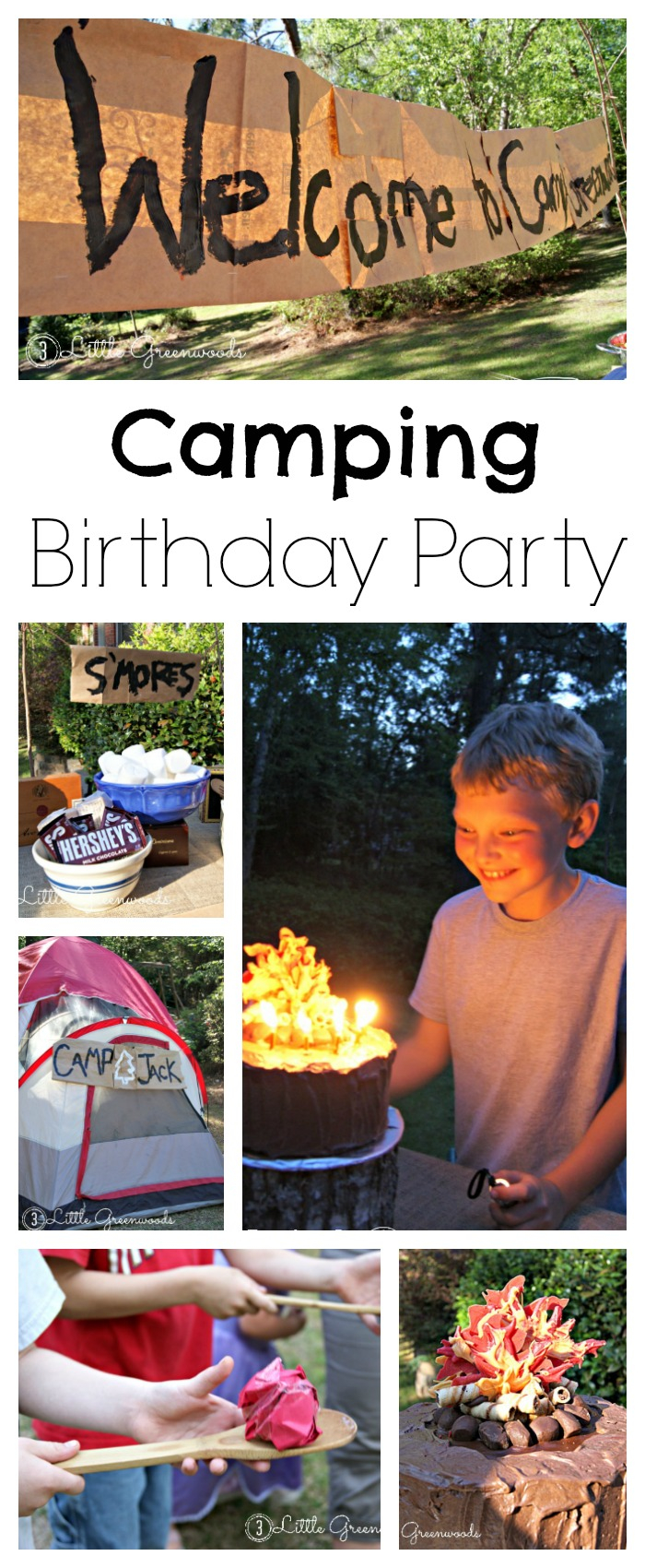 Camping Birthday Party Fun inside Backyard Camping Ideas For Children
