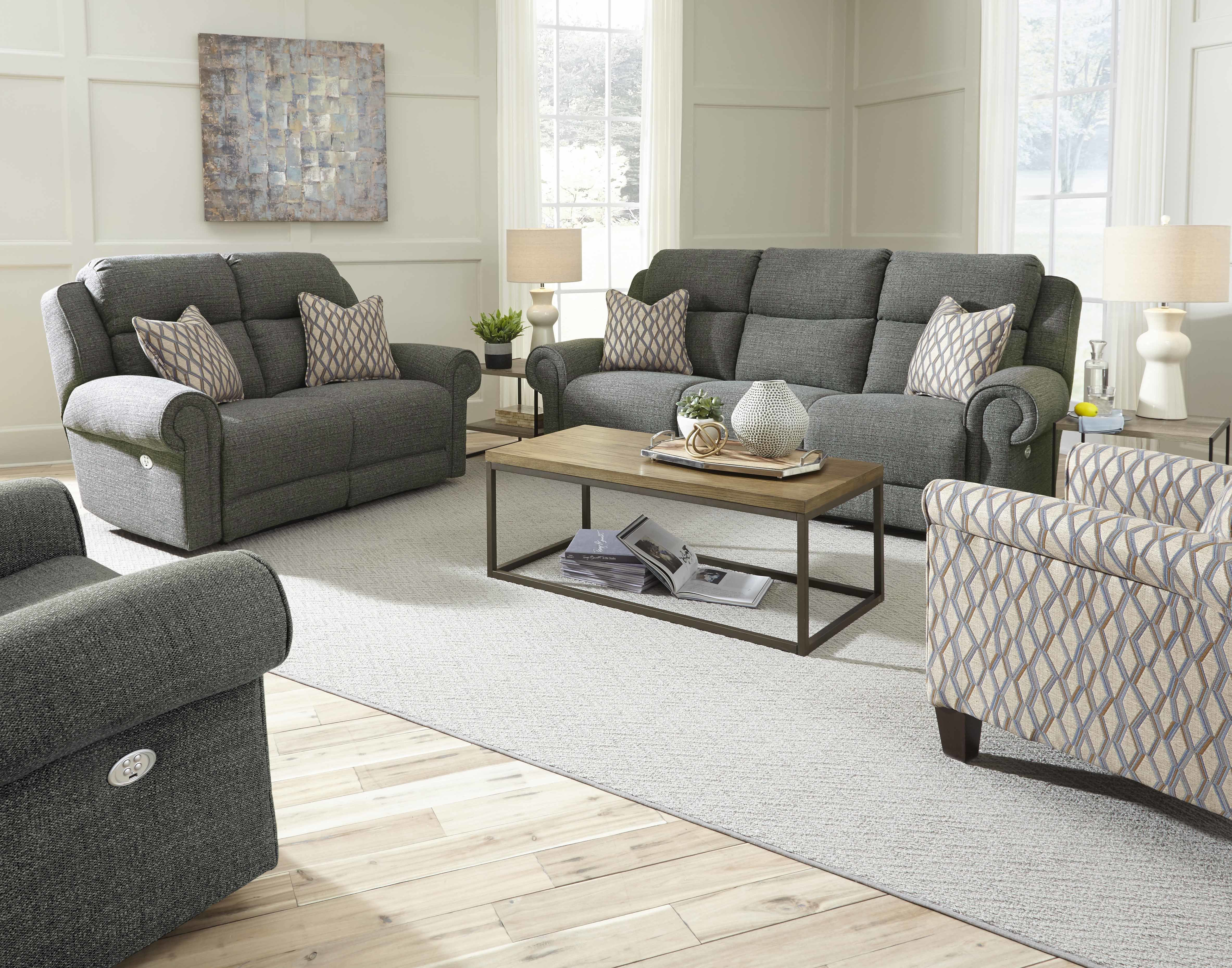 Canyon Ranch 2 Piece Reclining Living Room Set pertaining to Reclining Living Room Sets