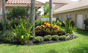 Captivating Florida Landscaping Ideas For Front Yard Pictures within Florida Backyard Landscaping