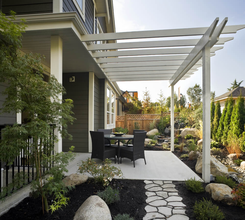 Change The Look Of Your Yard With An Arbor Or Pergola Backyard Ideas with Backyard Arbors Ideas