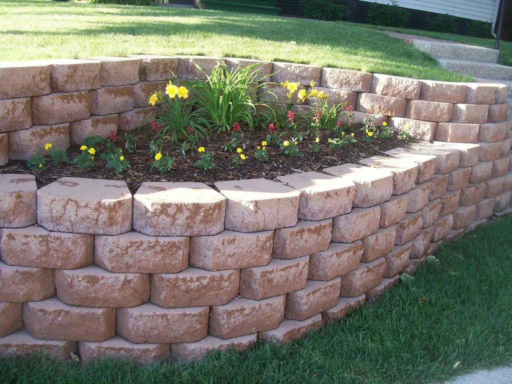 Cheap Garden Retaining Wall Ideas Lake Home Garden Retaining throughout Retaining Wall Ideas For Backyard