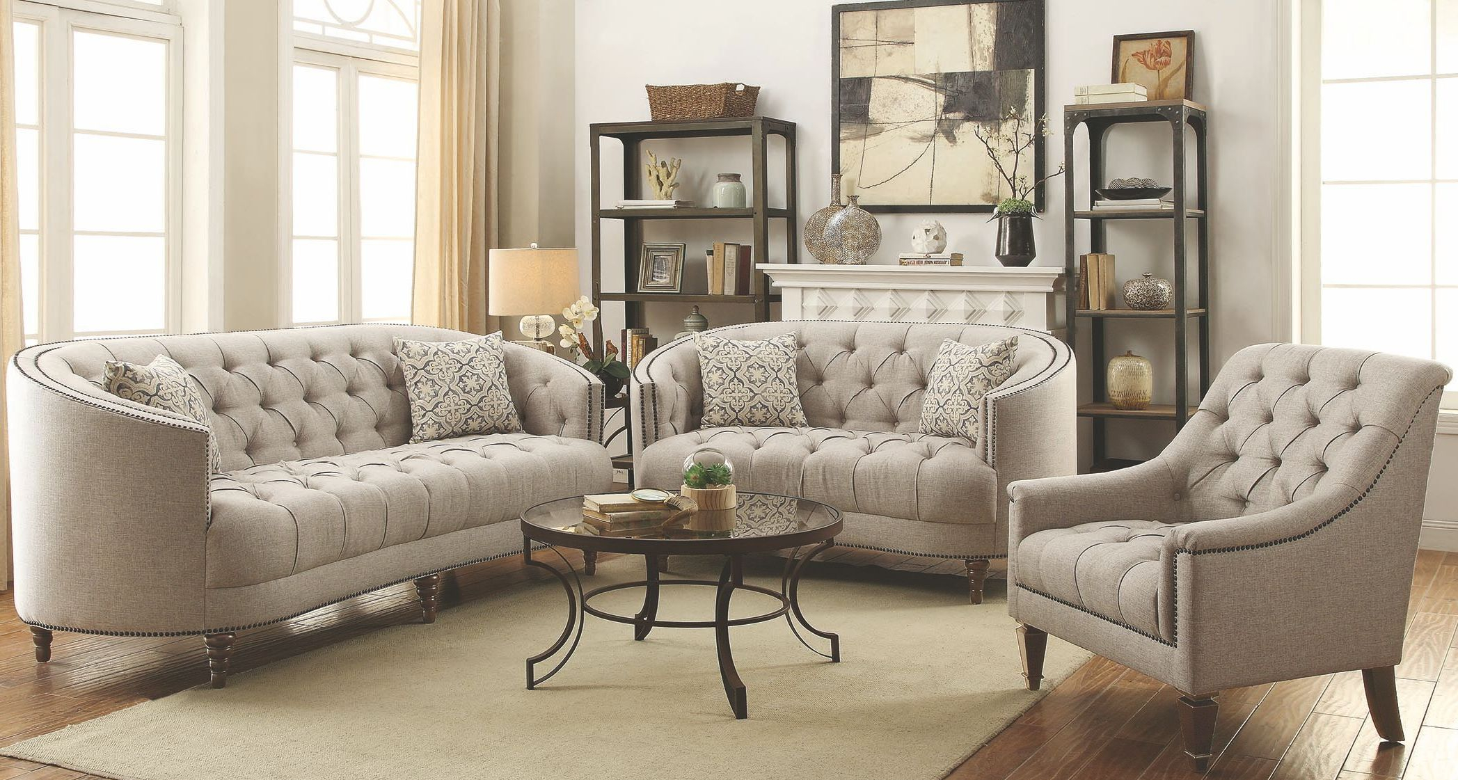 Coaster Avonlea Stone Grey Living Room Set Avonlea Collection 15 in 10 Awesome Ideas How to Improve Living Room Set For Cheap