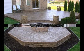 Cool Concrete Patio Ideas Youtube inside 12 Genius Ways How to Make Backyard Cement Ideas