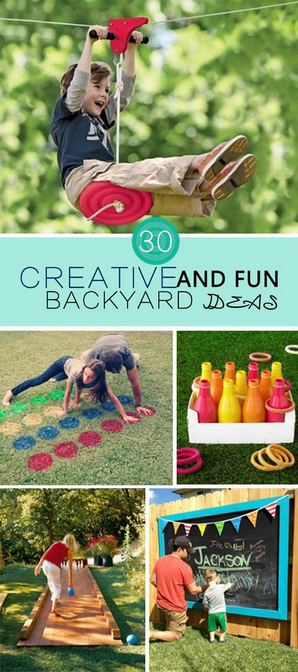 Creative And Fun Backyard Ideas Backyard Designs Backy pertaining to 15 Some of the Coolest Concepts of How to Craft Fun Backyard Ideas