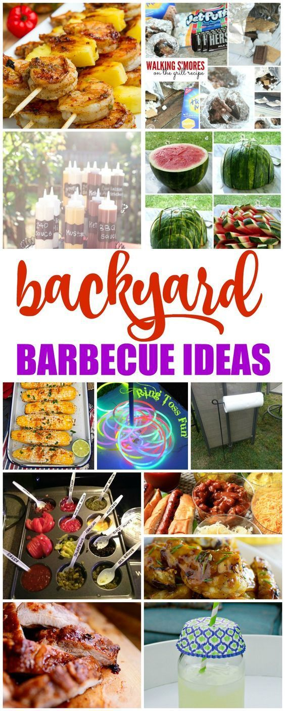 Creative Tips For Hosting An Outdoor Summer Party Backyard Bbq with regard to 15 Genius Ideas How to Make Backyard Barbecue Party Ideas