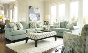 Daystar Seafoam Living Room Set Homeideas For Brightening My with regard to 11 Smart Initiatives of How to Upgrade Floral Living Room Sets