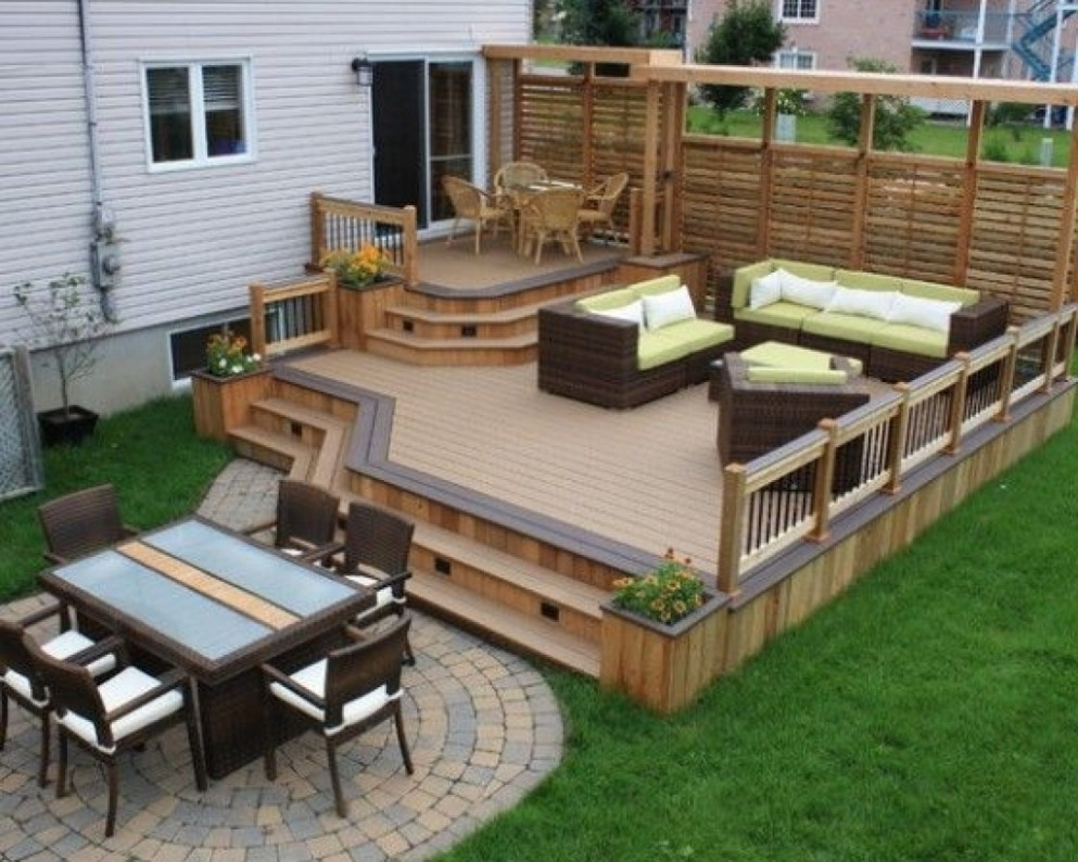 Deck Designs Be Equipped Home Deck Design Be Equipped Building Deck with 12 Clever Tricks of How to Build Backyard Wood Patio Ideas