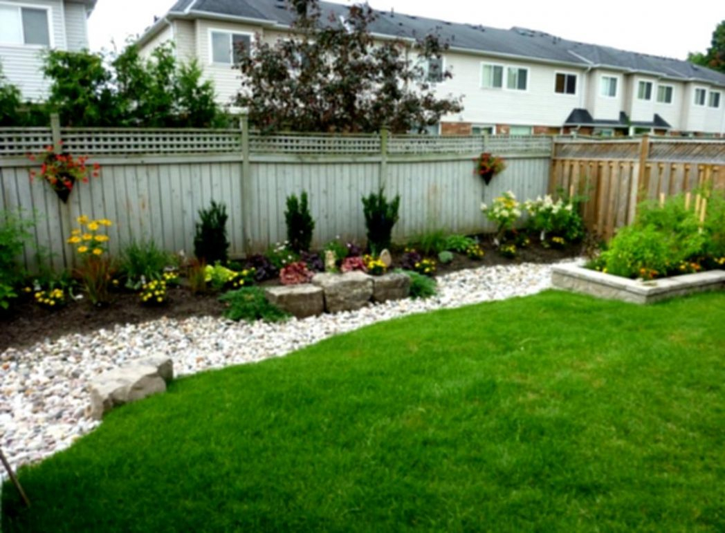 Decorating Yard Ideas On A Budget Small Backyards Home Backyard with Landscape Ideas For Backyard On A Budget