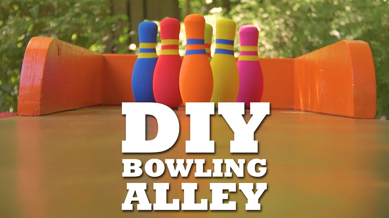 Diy Bowling Lane Youtube with 12 Genius Concepts of How to Make Living Room Lanes Bowling Set